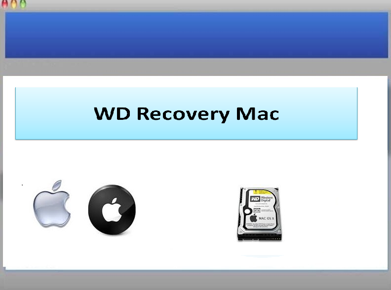 Software to rescue files from WD hard drive