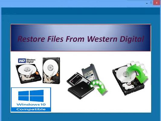 Powerful tool to recover WD hard disk files